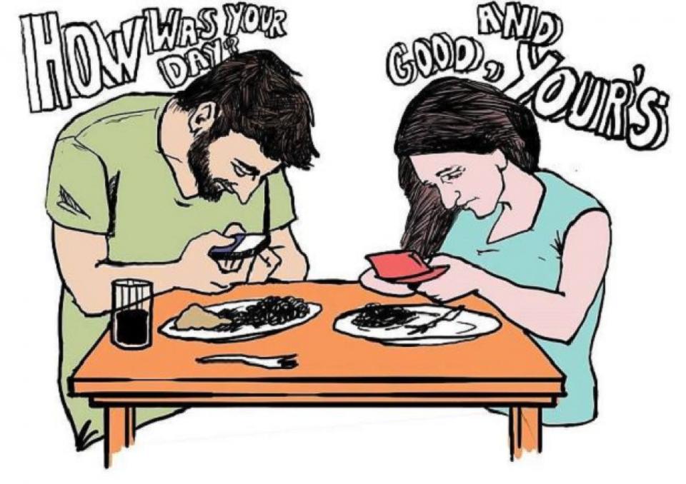 L'addiction au téléphone