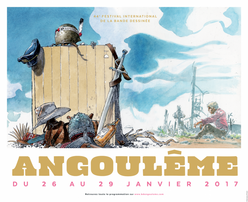 44e Festival de la bande dessinée d'Angoulême - Edition 2017