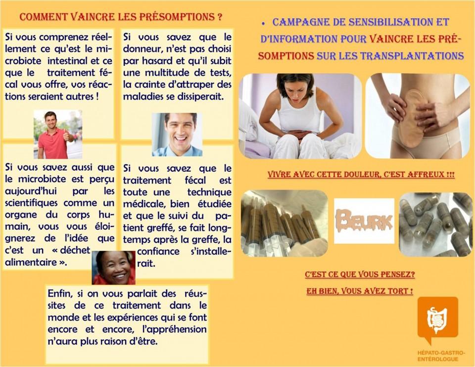Prospectus : Campagne de sensibilisation et d'information